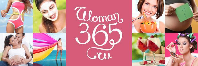 Коллаж на женскую тему вместе с логотипом Woman365.ru