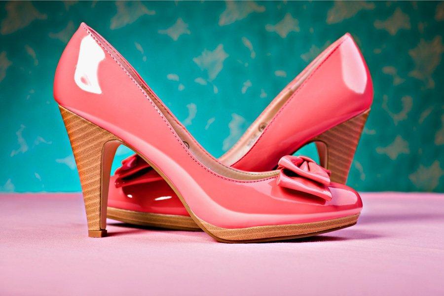 Красивые туфли на каблуке фото