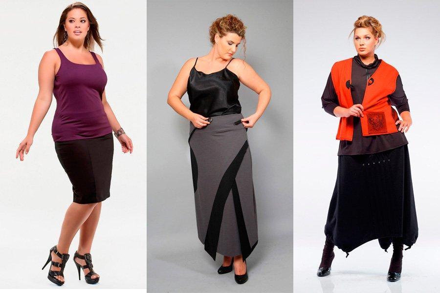 Как выбирать юбки для полных женщин?