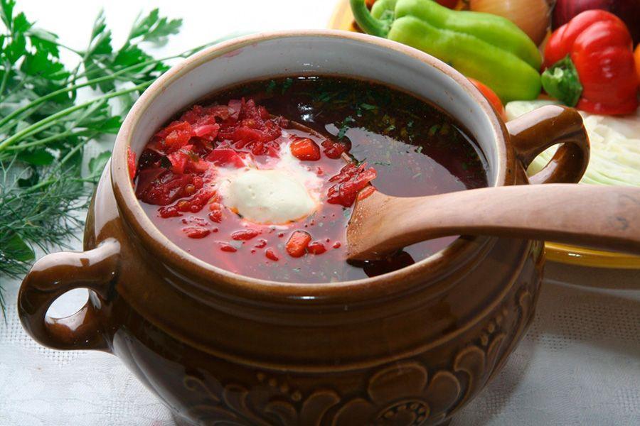 борщ украинский рецепт говядиной