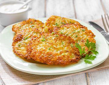 рецепт драники с картошкой и кабачками