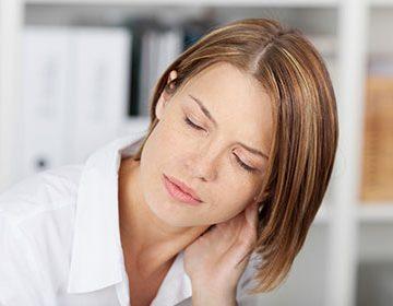 Зарядка для остеохондроза шейного отдела сидя