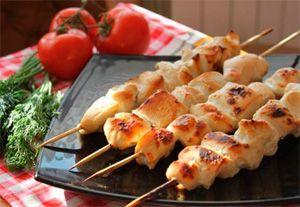 Шашлык из курицы рецепты маринада с кефиром