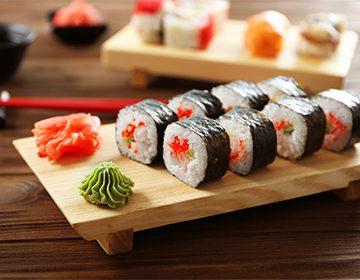 Как готовить рис для суши, заправку и имбирь