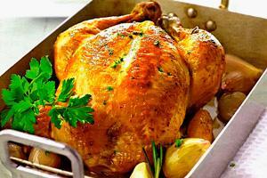 Курица с хрустящей корочкой и картофелем