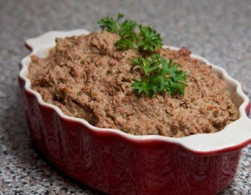 паштет домашний из печени говяжьей рецепт с фото