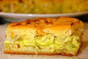 3 рецепта пирога с капустой из дрожжевого теста