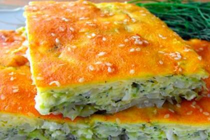 рецепт пирога с капустой из жидкого теста в мультиварке