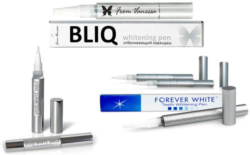 Карандаши Luxury Whitepro, Bliq Teeth Whitening Pen