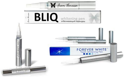 Карандаши Luxury Whitepro, Bliq Teeth Whitening Pen
