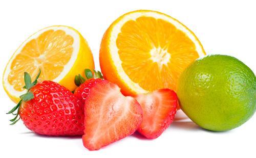 Клубника и лимоны