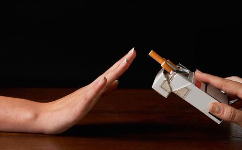 Отказ от предложенной сигареты
