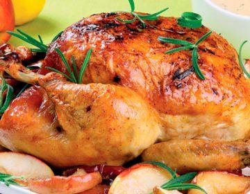 вкусная запеченная курица с лимоном в духовке рецепт