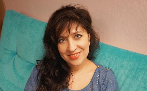 Нагорная Вероника дает интервью женскому порталу