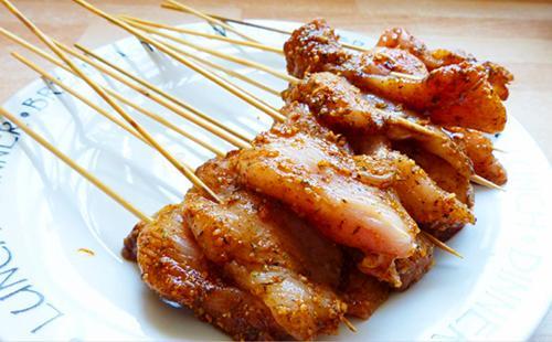 Рецепт шашлыка из курицы в духовке: из бедер, филе и крыльев