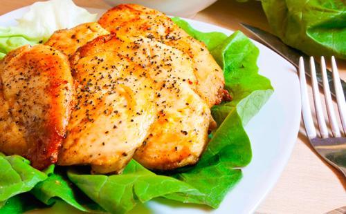 Куриное филе в духовке 🥝 рецепт блюда для пп, низкокалорийная запеченная курочка