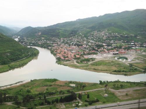 Арагви и Кура - реки в Грузии