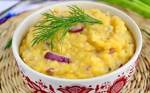 Рецепт гороховой каши в мультиварке: с луком, овощами, копченостями