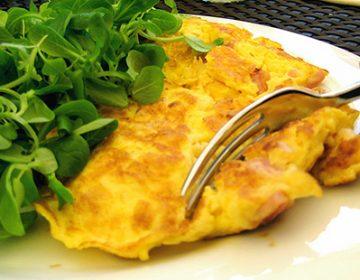как готовить омлет из яиц и молока на сковороде рецепт