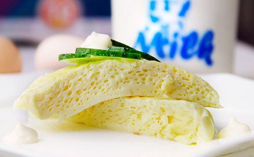 Паровой омлет рецепт 🥝 как готовить яичницу на водяной бане, фото