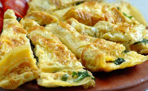 Как приготовить омлет 🥝 пышный классический