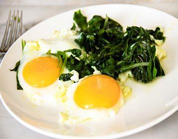 Рецепты яичницы
