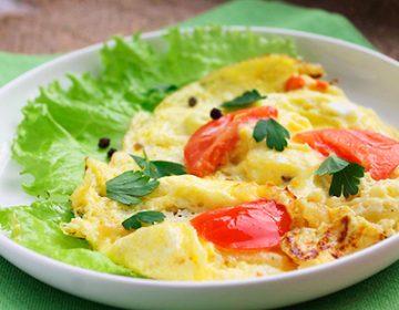 яичница с помидорами в духовке рецепты