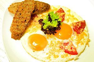 рецепт яичницы с сыром