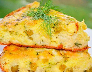 рецепт капустной запеканки с яйцом в духовке