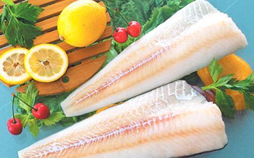 Куски рыбного филе