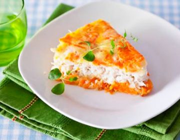 Блюдо с капустой и фасолью