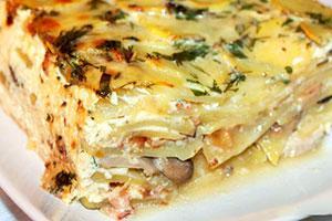 Рецепт картофельная запеканка с мясом в духовке