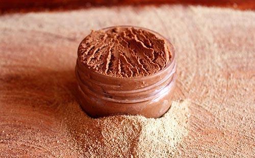Красная глина напоминает Марс