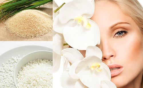Благодаря рису кожа становится нежной и белой, словно цветочные лепестки