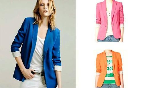 Яркие пиджаки для смелой девушки
