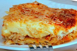 рыбная запеканка с картофельным пюре рецепт с фото