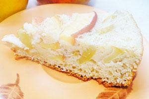 Шарлотка с яблоками на фруктозе рецепт с фото пошагово в духовке