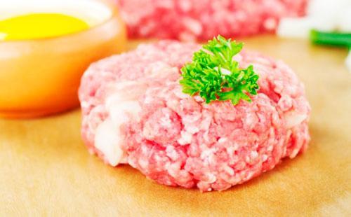 Кружочек мясного фарша