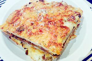 Картофельная запеканка Аля лазанья