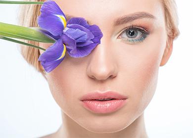 Цветок и глаза