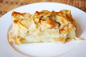 Рецепт классической шарлотки из яблок фото
