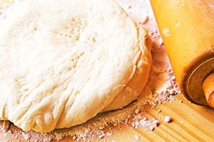 Заварное тесто для пельменей с яйцами