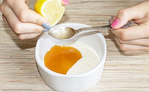 Очищающая маска с лимоном