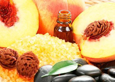 Масло и косточки от персиков
