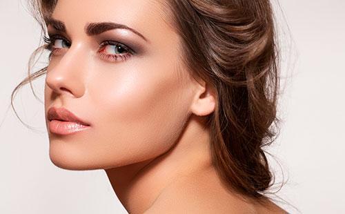 Как сделать макияж для круглого и овального лица 23