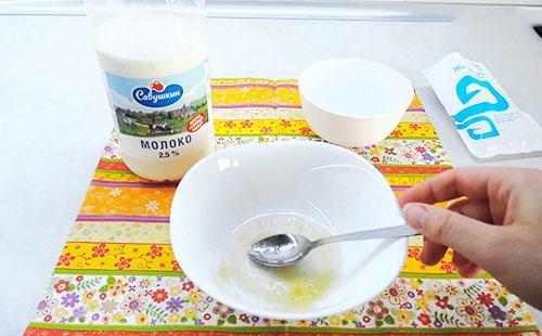 рецепт маска от черных точек из желатина