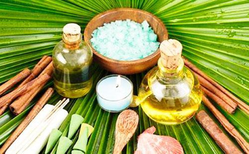 Ингредиенты для маски из камфорного масла