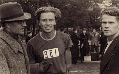 Олег Юлианович Лось в Спартаке, 1948 год