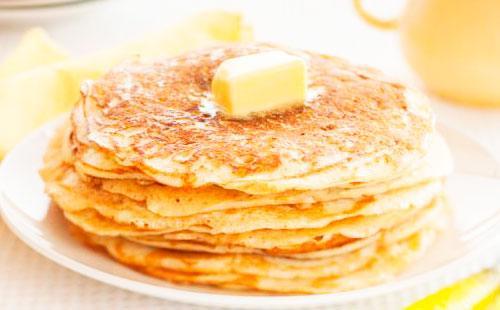 Рецепт блины с кефиром и молоком рецепт