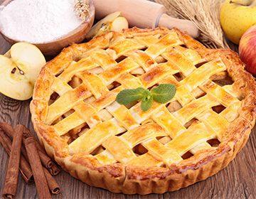 рецепт выпечки с яблоками